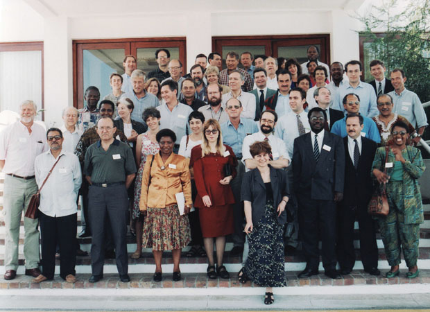 "Participants at Project Initiative, ""Dealing with the Past"" in Cape Town, South Africa, 1994"